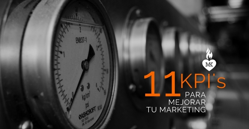 11 Kpis para mejorar tu marketing
