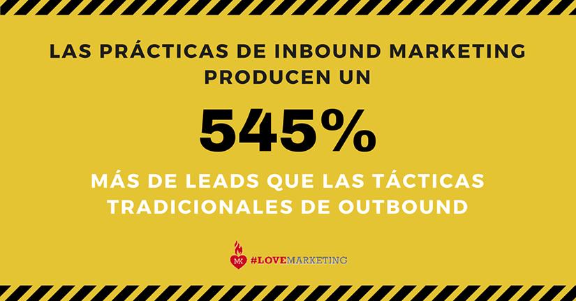 datos inbound marketing