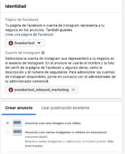 Messenger ads de Facebook