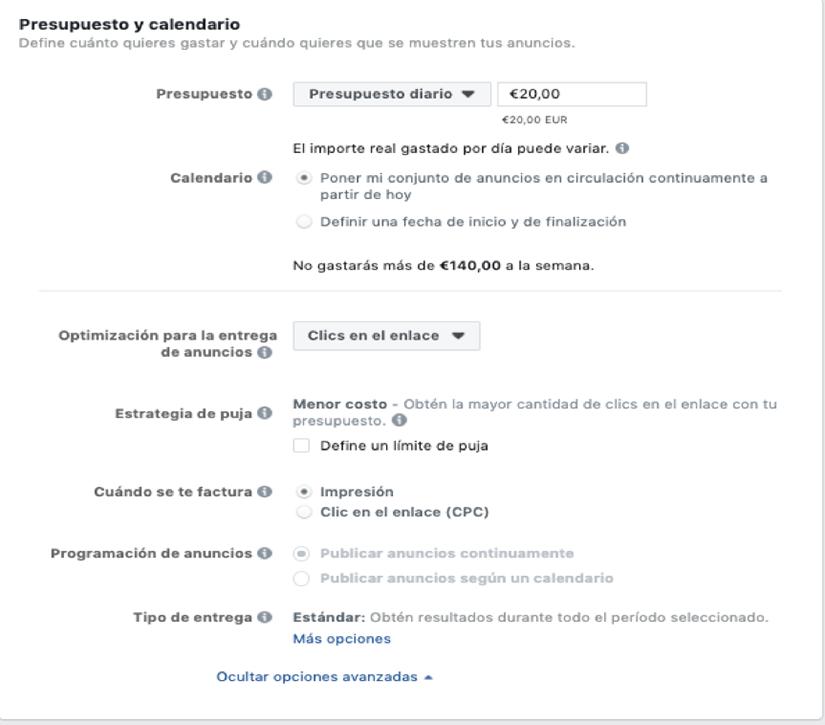 Optimizar Facebook Ads