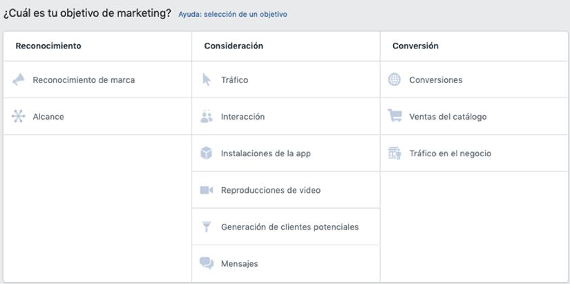Dashboard Facebook