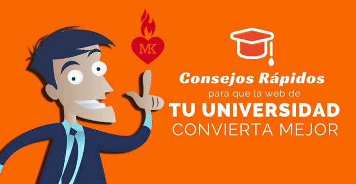 consejos para que la web de tu universidad convierta mejor