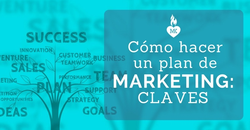 Hacer plan de marketing