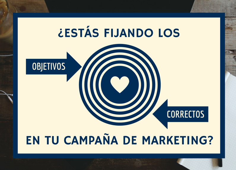 objetivos correctos campaña marketing