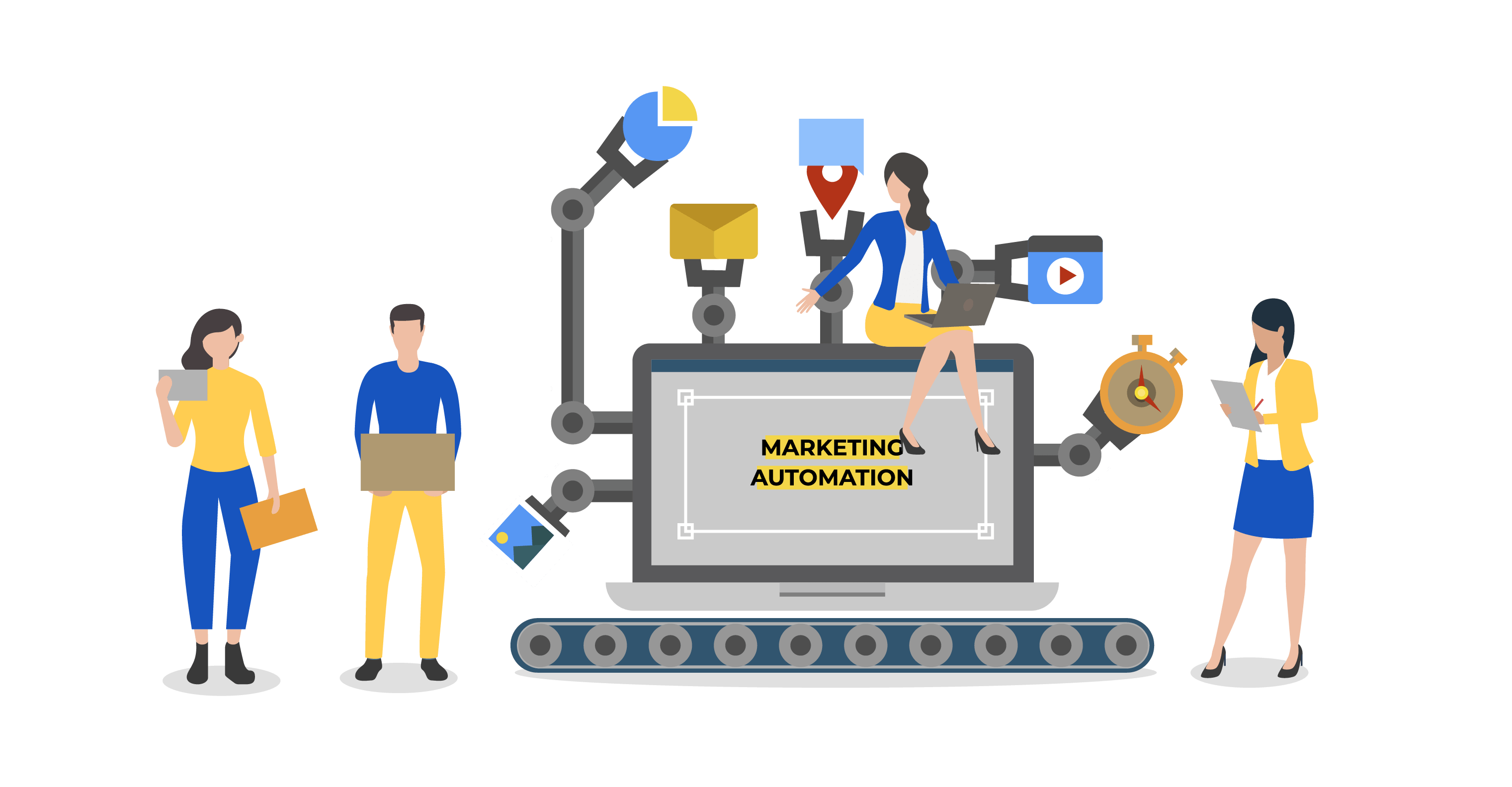 atraer clientes marketing automation