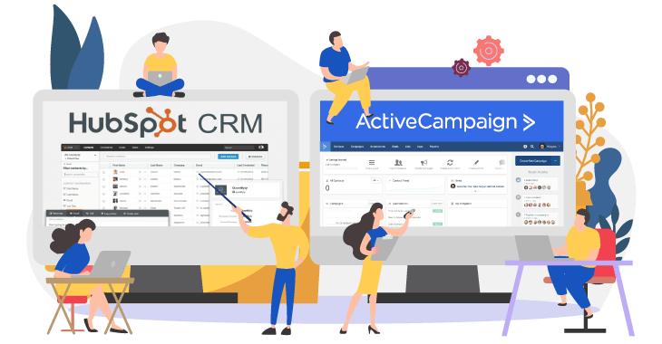 HubSpot CRM o Active Campaign