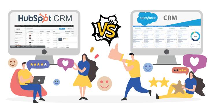 Hubspot CRM vs Salesforce