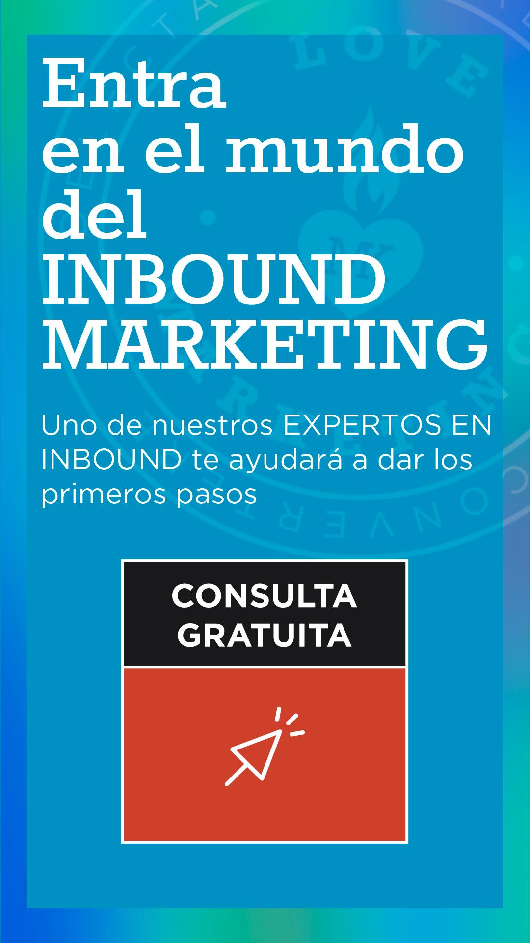 Contacta con un experto en Inbound Marketing